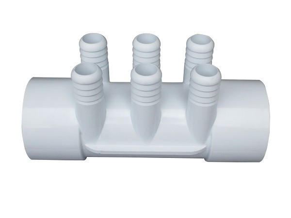 "90 Degree PVC Elbow Fittings , Spa Plastic 2""-6*3/4 Pvc Tee Plumbing Pipe Fittings"